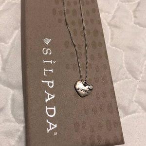 Sweet Silpada Charm Necklace